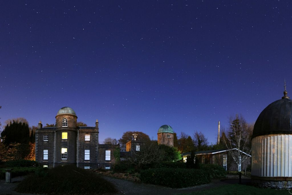 Stargazing from your Garden for International Dark Sky Week