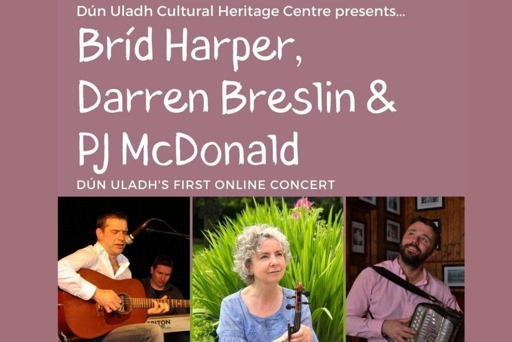 Bríd Harper, Darren Breslin and PJ McDonald at Dún Uladh