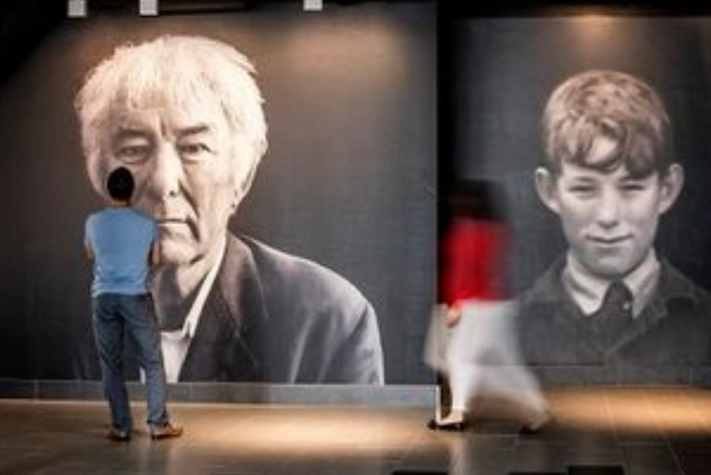 Seamus Heaney new series of discussions